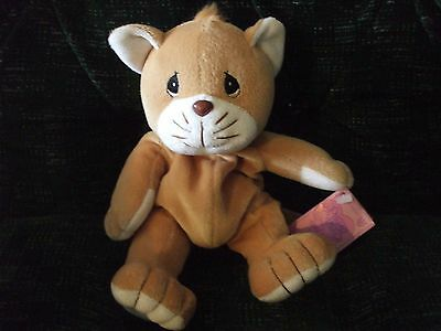 Stofftiere Tender Tails Brown Kitten by Precious Moments
