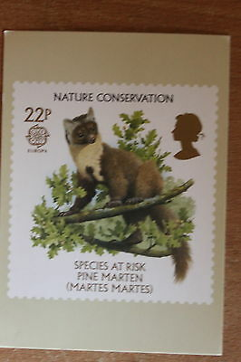 PHQ card of royal mail stamp SG1321