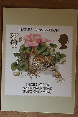 PHQ card of royal mail stamp SG1323