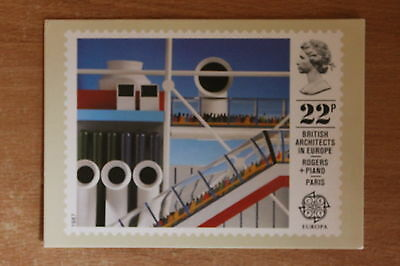 PHQ card of royal mail stamp SG1356