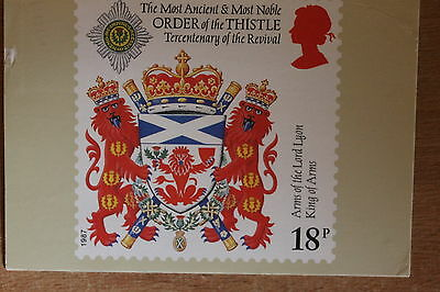PHQ card of royal mail stamp SG1363