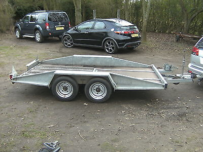 Prg Twin Axle Car/vehicle Transporter Trailer 1500Kg Fully Galvanised..