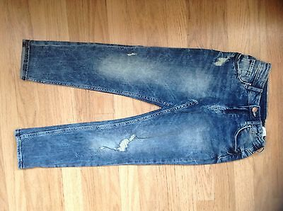 Boys distressed vintage jeans to fit 9 years