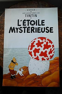 Tintin Poster, Herge, Collectable, The Shooting Star.