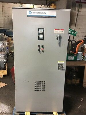 Allen Bradley 1395Ar-1A-A260-Fg1-Cg1-Lh-Ah-Sa-Da-G1A-Nob-Ax Dc Drive Controller