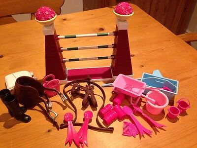 Barbie Horse Accessories And Jump