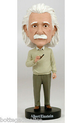 Albert Einstein Creazione Royal Bobbles Testoni Famosi Headknocker H.20Cm