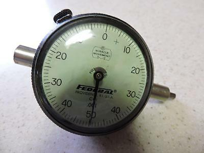 Federal Dial Indicator Cbi .001 Jeweled Miracle Movement Works