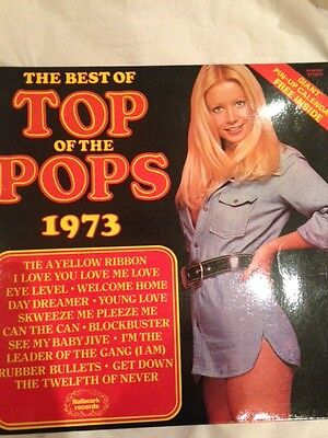 Vinyl LP record The Best of Top of the Pops 1973