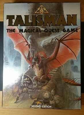 Talisman The Magical Quest 2nd Edition + Expansion Set +Talisman the Adventure