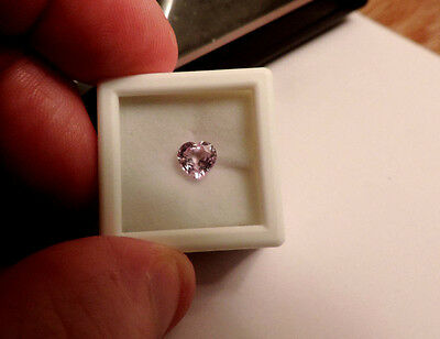 1 Loose Heart Shaped 1.05ct Pink Natural Sapphire. Cut By Me. Very Nice :)