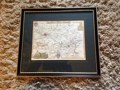 Antique Environs Of Bath And Bristol Map By Thomas Moule Circa 1840