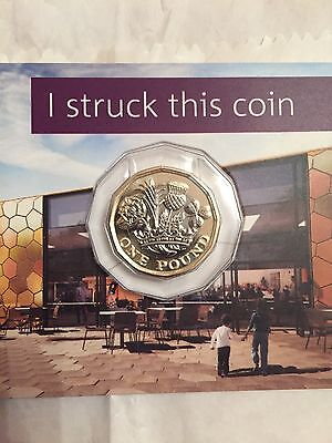 2017 One Pound £1 Coin Brand New Sealed Bunc 12 Sided Plus Extras