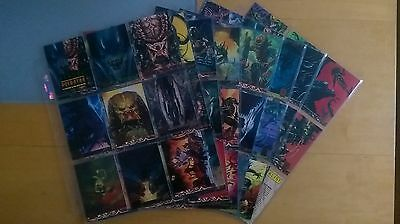 1995 Aliens Predator Universe Complete 72 Card Base Set + Chase Cards Nm/Mint