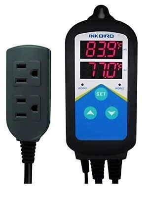 Inkbird ITC-306T Pre-wired Electronic Heating Thermostat Temperature Controller