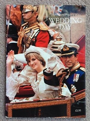 Charles And Diana Wedding Day Souvenir Book Prince And Princess Of Wales