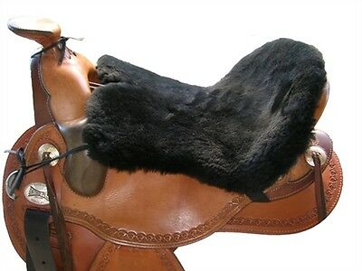 Equestrian Westren Saddle Sheepskin Seat Cover- Seat Only