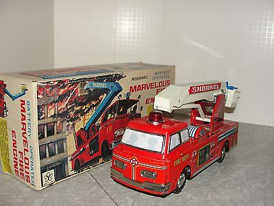 VIntage Marvelous Fire Engine Truck in the Box