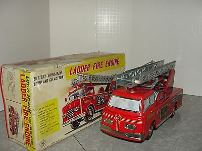 VIntage Ladder Fire Engine Truck in the Box