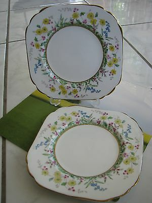 A set of plates -Tuscan china, Made in England