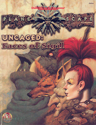 Planescape Uncaged: Faces of Sigil for Advanced Dungeons & Dragons RPG VG