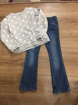 girls outfit age 4-5 vgc