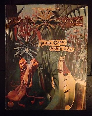 Planescape In the Cage: A Guide to Sigil for Advanced Dungeons & Dragons RPG VG