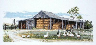 Hay Shed - Cross Stitch Chart by Country Threads