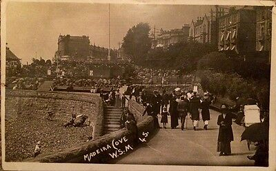 1913 RP - Madeira Cove - Weston-Super-Mare , Somerset - social History