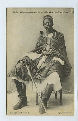 Tribal Chief From Senegal - Postcard