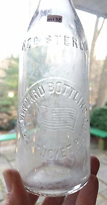 Pawtucket, RI - FLAG Picture Beer, Circa 1890 - Standard Bottling