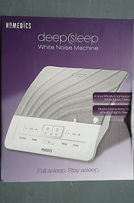 HoMedics Deep Sleep White Noise Machine Sound Conditioner Portable HDS 1000