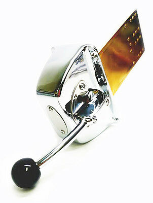 Victory AA60057 Top Mount Single Engine Control Brass Chrome Plated 135-1054
