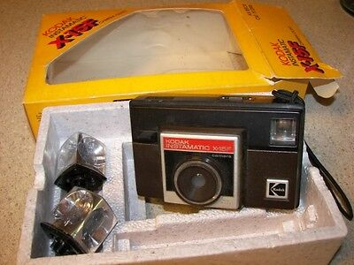 Vintage Kodak Instamatic X-15F Camera - In Original Box