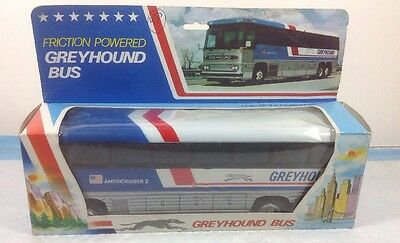 Greyhound  Bus Friction Powered NIB