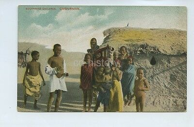 African Men In German East Africa - Colour Postcard Africa