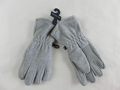 Lands' End - Boy's Or Girl's Touchscreen Winter Gloves Gray Small