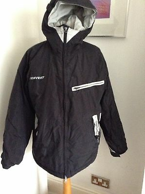 Columbia Womens Ski Snow Jacket Black & Grey Size XL