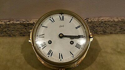 Vintage Schatz Mariner 8 Day Bell Clock made in Germany