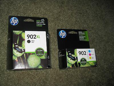 HP 902XL,902 Original Ink Comb Set 4 colors  New in Boxes EXP July2018 or Later
