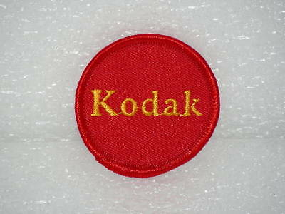 Kodak Camera Logo Patchs Two 2X Embroidered Vintage Hat Cap Coat