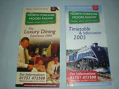 Trains Private Steam Railways 2 North Yorkshire Moors Railway Times & Info 2005