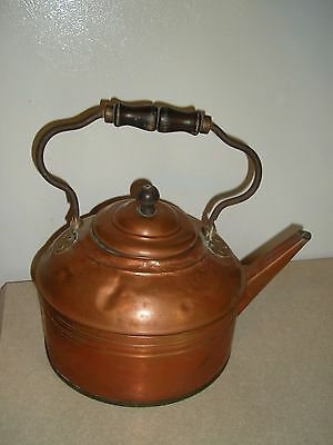 Antique Large Copper Kettle