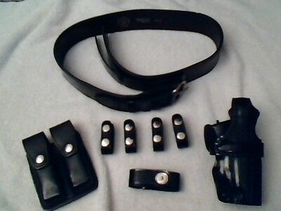 POLICE EQUIPMENT duty belt and holster and Accessories
