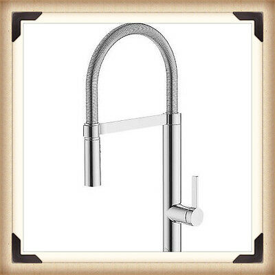 Modern Kitchen Tap  Spray Mixer Chrome Brushed Faucet--Brand New.
