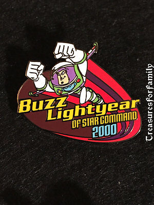 Disney Pin 100 Years of Dreams #48 Buzz Lightyear Star Command Toy Story FRE SHP