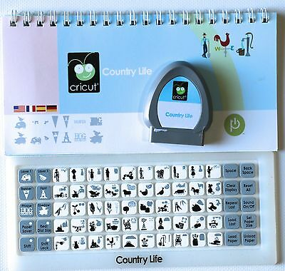 Country Life Farm Cricut Cartridge Gently Used LOW domestic shipping