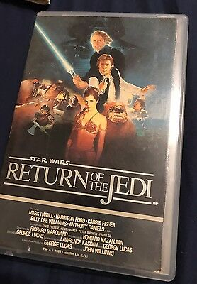 Star Wars Return of the Jedi Betamax Beta Not Vhs HiFi Digitally Remastered