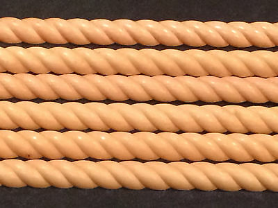 6 Kraftmaid Honey Spice Maple HSM Rope Molding Classic Crown Insert Trim RM8