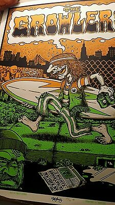 The Growlers nyc poster